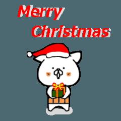 はらまきねこ(クリスマス)
