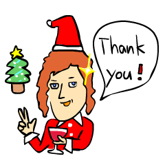 クリスマス&お正月★おもしろスタンプ