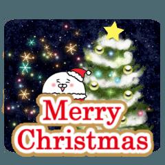 [LINEスタンプ] こまるのクリスマス&冬