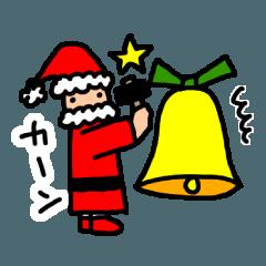 サンタさんも楽しいクリスマス!