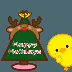 ひよこのぴよちゃんのクリスマス&お正月