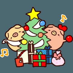 ぶぶとあばのメリークリスマス