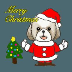 シーズー クリスマスバージョン