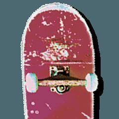 スケーターのためのスタンプ
