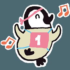 ペンギン『ペン太』のスタンプ