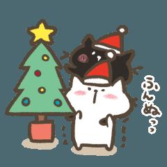 黒猫さんと白猫さんの冬とクリスマス