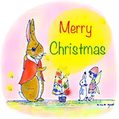 ちいさなウサギのChristmas&Happy new year