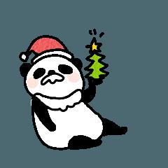 しゃべるパンダ〈クリスマスバージョン〉
