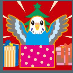 クリスマスと年末 〜セキセイインコ
