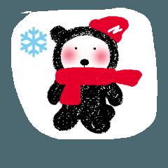 おらはクマ(冬バージョン)