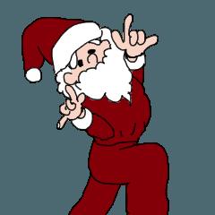 面白いクリスマススタンプ