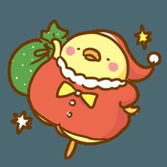 食いしん坊なピヨコ:クリスマス