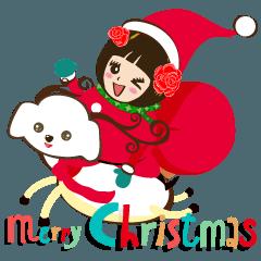 Super Beauty QQ idol メリークリスマス!