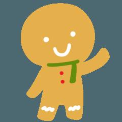 ジンジャークッキーくん クリスマス編