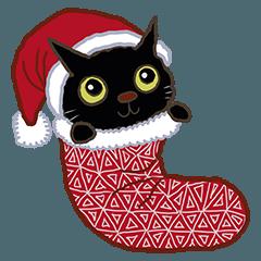 ハッピーリトルブラックキャット -クリスマ
