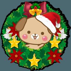 子犬のメリークリスマス&お正月!