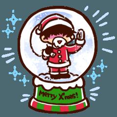 彼と彼女と愉快な仲間達!・クリスマス!