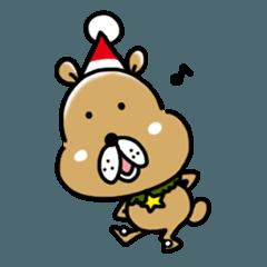 おクマと楽しいクリスマス&お正月
