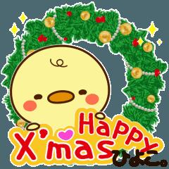 ひよこ。クリスマスぴよ