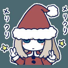 サンタ帽子さん(キャスケットさん)