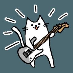 [ST]ギタリストのためのギターねこスタンプ