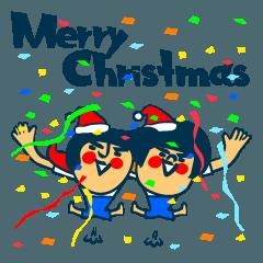 習慣少年スタンプ No.11 クリスマス