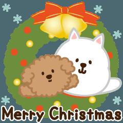 ▶︎動く!わんこ(冬とクリスマス)