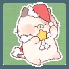 クリスマスとお正月~もふっと~