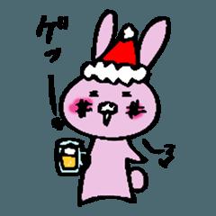 へべれけうさぎ クリスマス+α