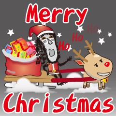 Monkey Boss Family-Merry Christmas