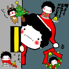 もちまる母(クリスマス)