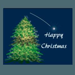 キラキラ動く★おとなの特別なクリスマス