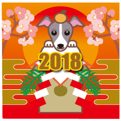 NEW YEAR 2018〜イタグレと車