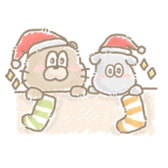 もふもふなぬいぐるみとクリスマス!
