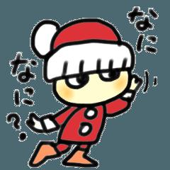 小さなサンタ、ほぼクリスマス編