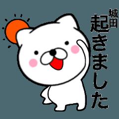 【城田】が使う主婦が作ったデカ文字ネコ