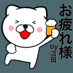 【沼田】が使う主婦が作ったデカ文字ネコ2