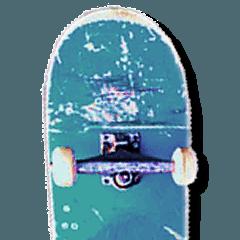 skateboarders sticker (english version)
