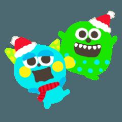 クリスマス-モンスター★