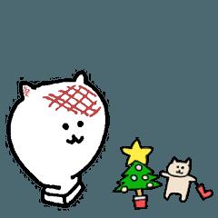 クリスマス☆年末年始ネコ