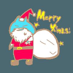 Caくんのクリスマスとお正月スタンプ