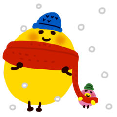 emoji chan クリスマス&お正月