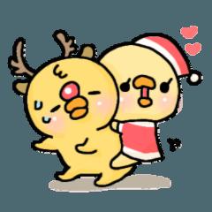 ぴよぴよ夫婦♡クリスマス&お正月