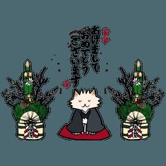 ポメ村さんのお正月 2018