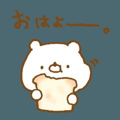 少し関西弁な まるいクマ。
