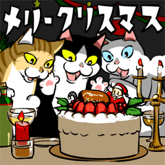 おはぎ(動)クリスマス&お正月