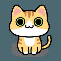 ウノ キャット No.01 Basic Sticker