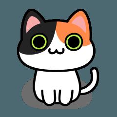 ウノ キャット No.04 Basic Sticker