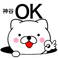 【神谷】が使う主婦が作ったデカ文字ネコ