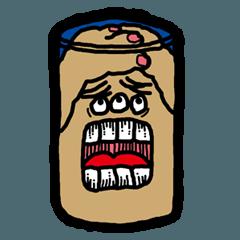 [LINEスタンプ] ブラウニーくんの日常